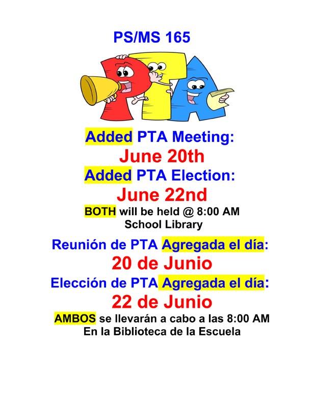 PTA June added dates 2016 flyer
