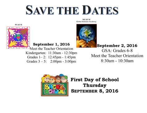 Teacher Save The Date